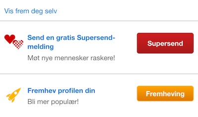 zoosk supersend no
